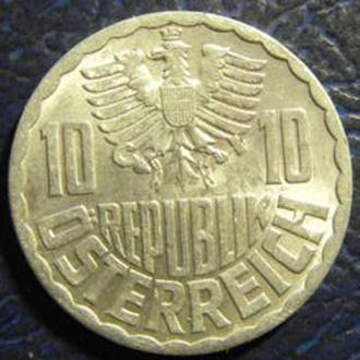 10 грошен 1970 Австрії