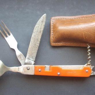 Нож туристический нерж. СССР 60-х.