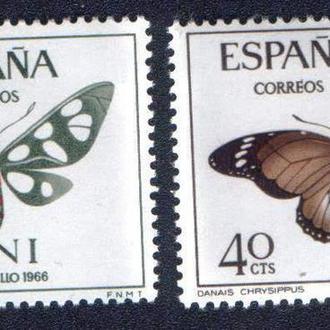 Ифни (1966) Испанская колония. Бабочки. Фауна