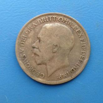 Великобритания, 1 пенни 1919 год