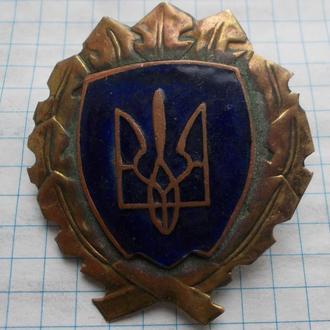 Кокарда муниципальной милиции Львова. 1990 г.