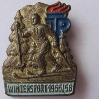 ГДР. Учасник зимних спортивных соревнований 1955-56 гг.