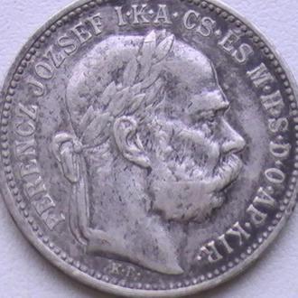 1 Крона 1893 г КВ Австро-Венгрия Серебро 1 Корона 1893 р Австро-Угорщина Срібло