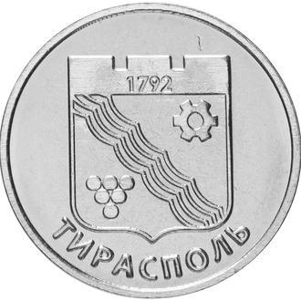 Shantаaal, Приднестровье, 1 рубль 2017, Герб города Тирасполь. UNC