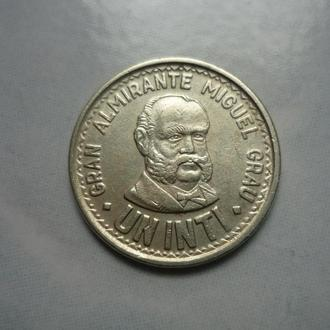 Перу 1 инти 1986