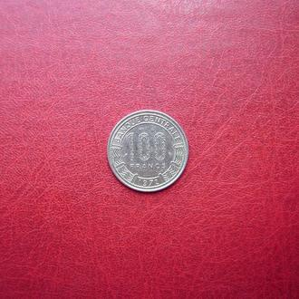 Габон 100 франков 1972