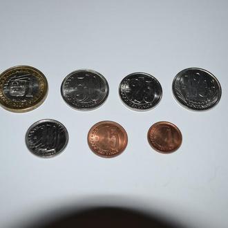 Венесуэла набор монет  7 шт.