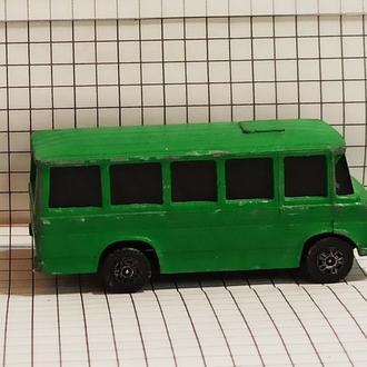 Corgi Juniors 116 Mercedes Bus GT Britain Мерседес Автобус Бус Великобритания зеленый