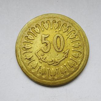 50 миллим = 1960 г. = ТУНИС =
