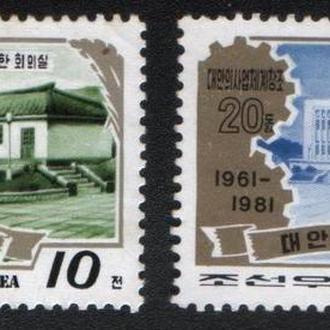 Северная Корея, КНДР (1981) Архитектура