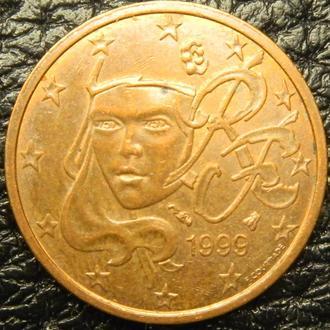 2 євроценти 1999 Франція