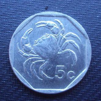Мальта 5 центов 1995г.