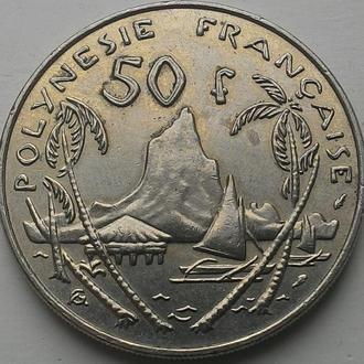 Французская Полинезия 50 франков 1982