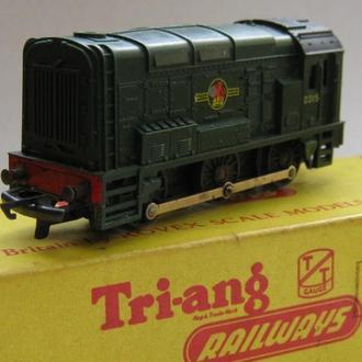 Локомотив Tri-Ang TT (Великобритания 1960-е)