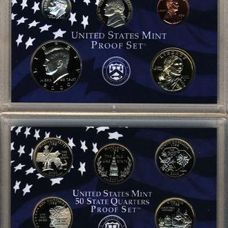 США 2000 Годовой набор монет PROOF