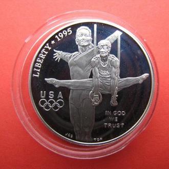 1 Доллар 1996 Олимпиада Кольца,(35) США