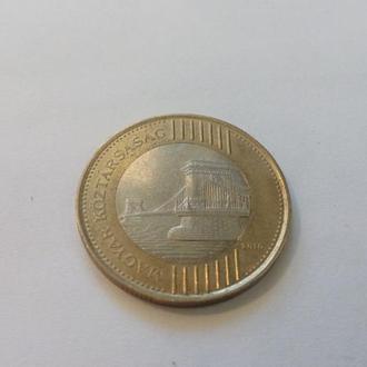 Венгрия 200 форинтов 2010 год. (евр-5).  Еще 100 лотов!!