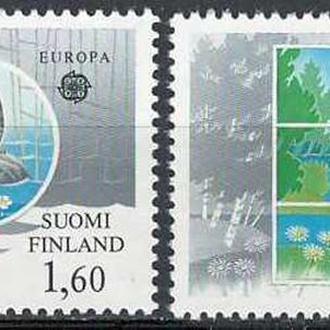 фауна Финляндия-1986 охрана природы, вып.ЕВРОПА (кц 13е)