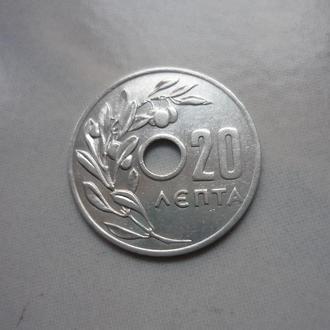 Греция 20 лепта 1959 флора