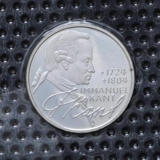5 Марок 1974 Кант,(8) Германия ФРГ Пруф