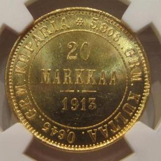 20 марок 1913