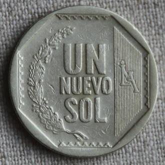 Перу 1 новый соль 2007 (Р-32)