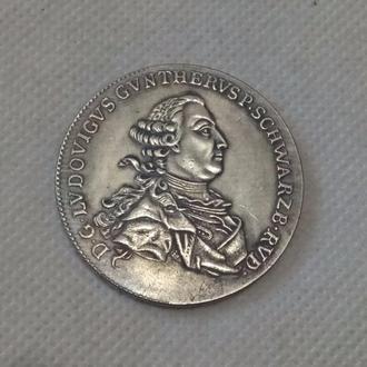 1 Талер 1768 год Германия Шварцбург - Рудольштадт - Людвиг Гюнтер II