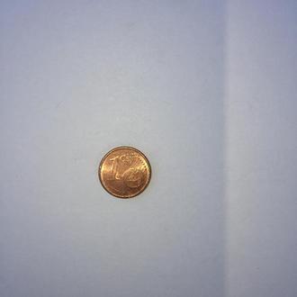 1 евроцент 2002 год.Германия