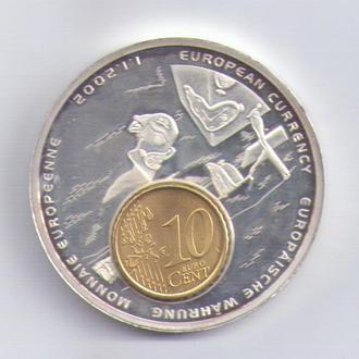 ВАЛЮТА ЕВРОПЫ 2002г. ЛИБЕРИЯ
