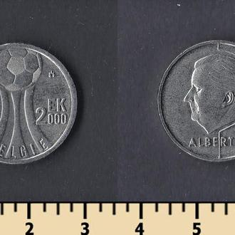 Бельгия 50 франков 2000