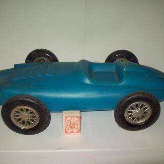 Игрушка машинка машина гоночная дутыш СССР клеймо большая