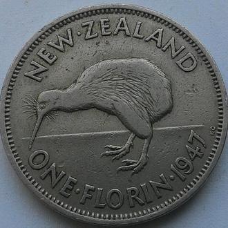 Новая Зеландия флорин 1947 год
