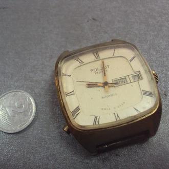 часы наручные полет автоматик 23 камней ссср позолота Ау10 №453