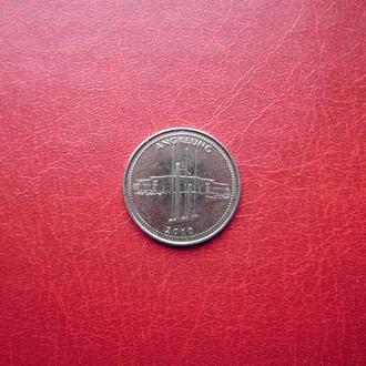 Индонезия 1000 рупий 2010. 2