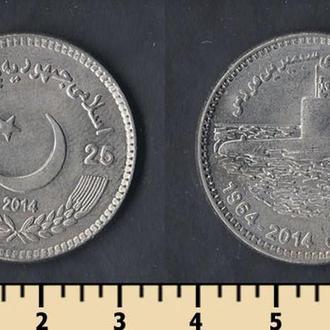 Пакистан 25 рупий 2014