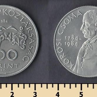 ВЕНГРИЯ 100 ФОРИНТОВ 1984