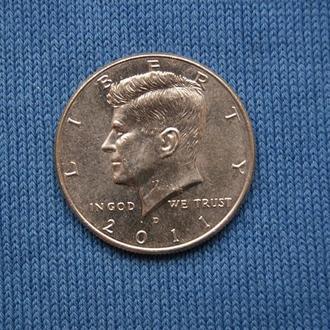 США 50 центов  2011 г  D  UNC