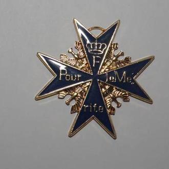 Копия - орден За Заслуги - Пруссия, с сертефикатом
