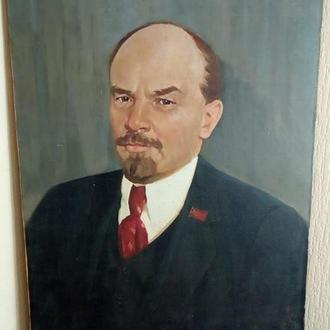 Портрет Ленина  худ.И. Лось 1978г.