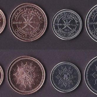 Набор Оман 4 монеты 2015