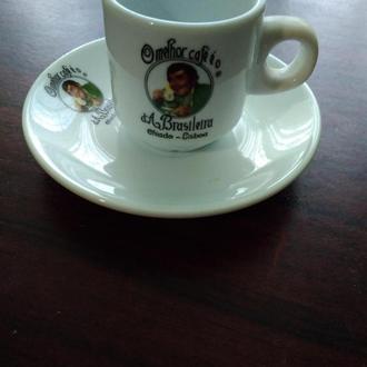 18..A BRASILEIRA..Чашка +блюдечко ..колекційні