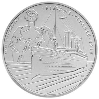 5 Фунтов 2012 Alderney 100th Anniversary of Titanic