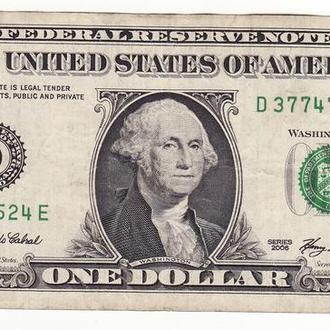 1 доллар США 2006. D Огайо Кливленд FW