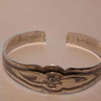 Браслет серебро пр. 875 чернение.