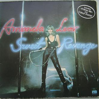 AMANDA LEAR   Sweet Revenge  LP  + Poster VG++