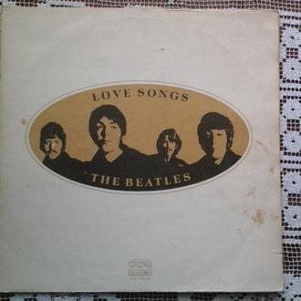 Beatles Love Songs 2LP GF Ex Болгария