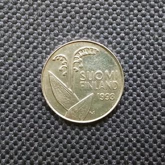 Финляндия 10 пенни 1993 г.
