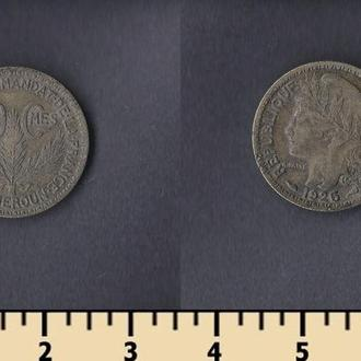 Камерун 50 сантимов 1925