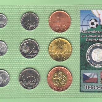 Набор ЧЕХИЯ Чемпионат Мира - 2006 год а ФУТБОЛ пластик блистер запайка