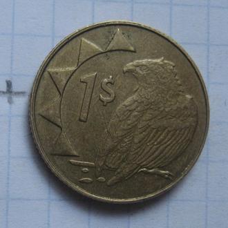 НАМИБИЯ 1 доллар 2006 года (ОРЕЛ).